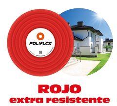 Poliflex 1 2 negro rollo 100 m para exteriores poliflex