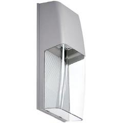 Zapala luminario para sobreponer en muro exterior gris tecnolite