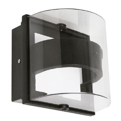 L mpara para sobreponer en muro exterior led 9w for Lamparas led para exteriores