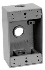 Caja rectangular de aluminio para uso intemperie de 1 2 eaton